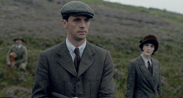 Downton Abbey Christmas Special: Matthew Goode and Michelle Dockery