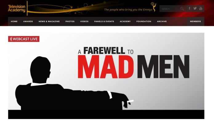 farewell to Mad Men