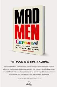 Mad Men Carousel at Amazon
