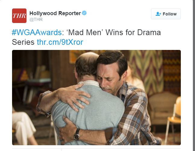 MAD MEN WGA 2016