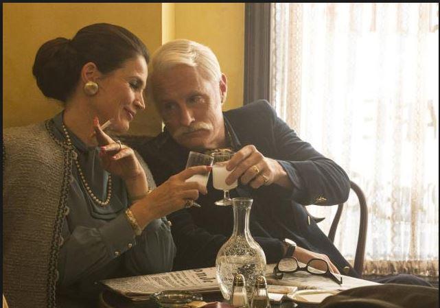 Marie Calvert and Roger