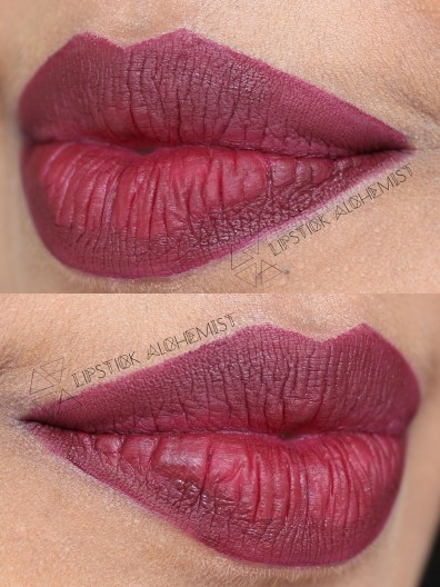 Nyx Copenhagen Soft Matte Lip Cream Swatch Review Tan Olive Dark Brown Indian Skin Tone
