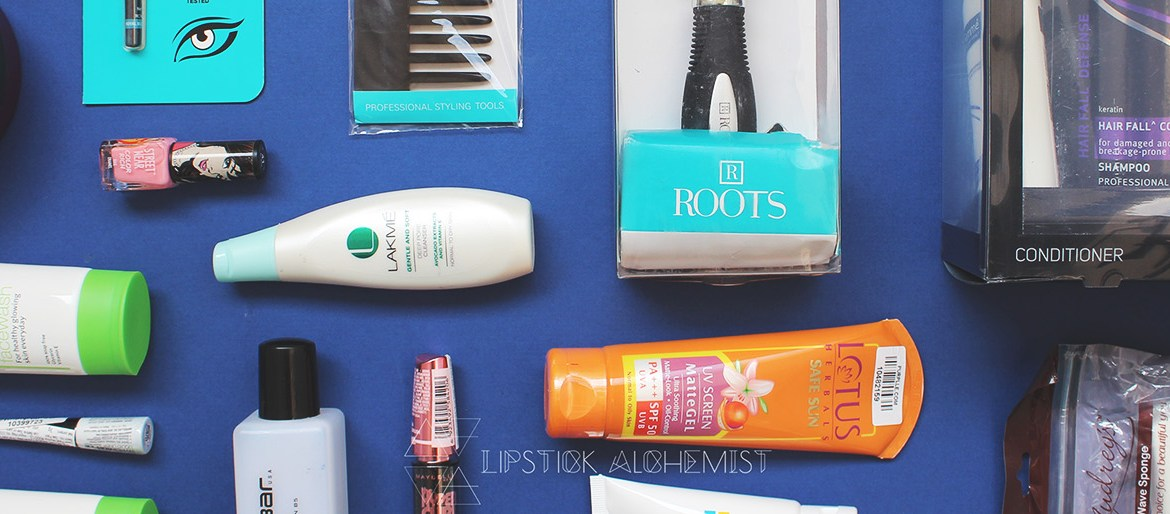 Purplle Haul Tresemme Lakme Maybelline Colorbar Body Shop Olay Lotus Pond's Streetwear Roots Audrey Online Shopping India