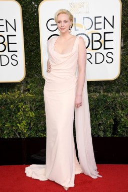 Gwendoline Christie in Vivienne Westwood; Best Dressed Golden Globes 2017