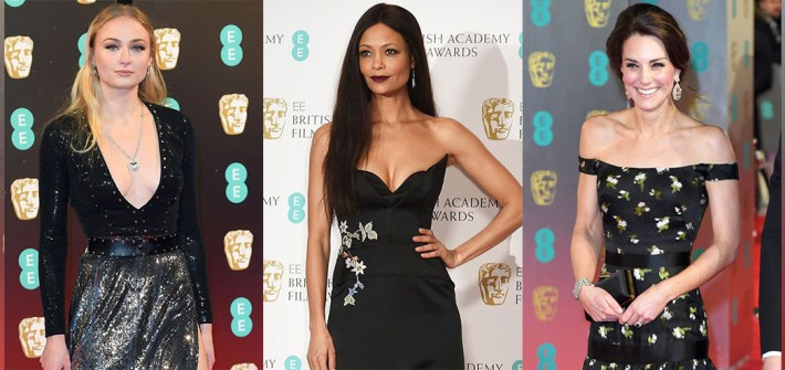 Best Dressed BAFTAS 2017