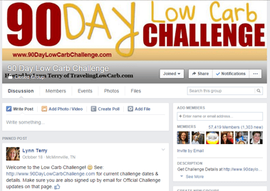 90 Day Low Carb Challenge