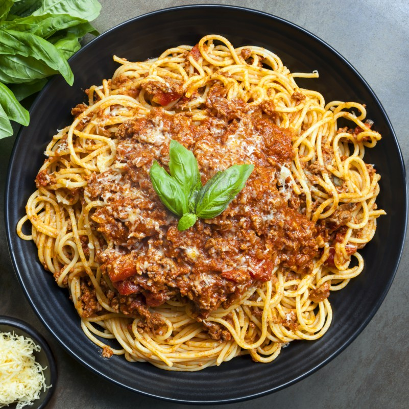 Super Simple Spaghetti Bolognese
