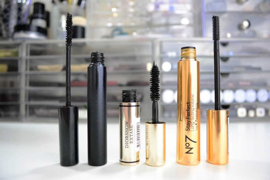 Mascara Review: Surratt Releve, Diorshow Extase, No7 Stay Perfect