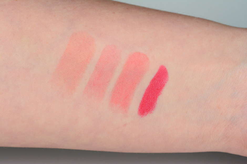 Givenchy Le Rouge-A-Porter Vermillion Creation Swatch