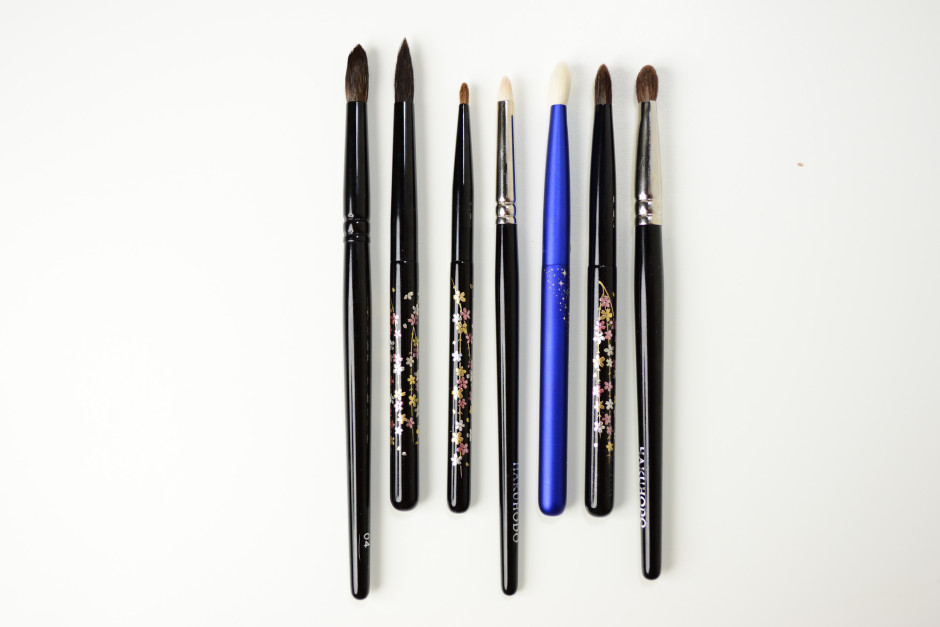 Chikuhodo Collection - Eye Brushes