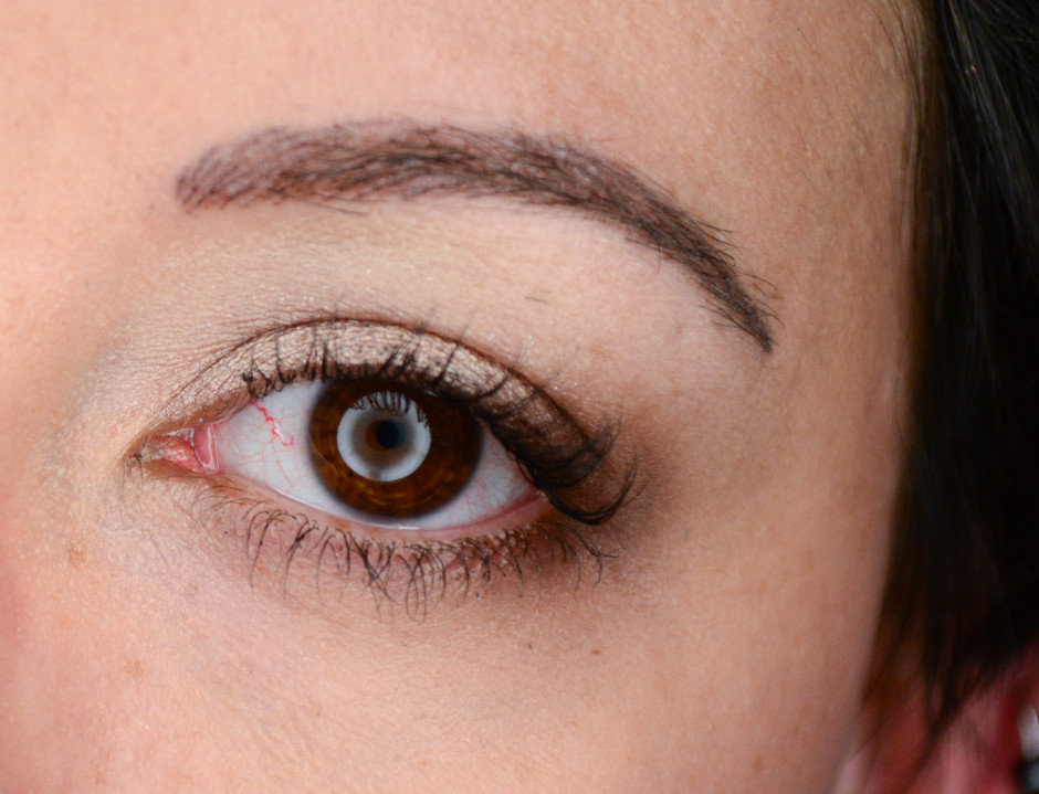 Eyebrow Tattoo After 2nd Session