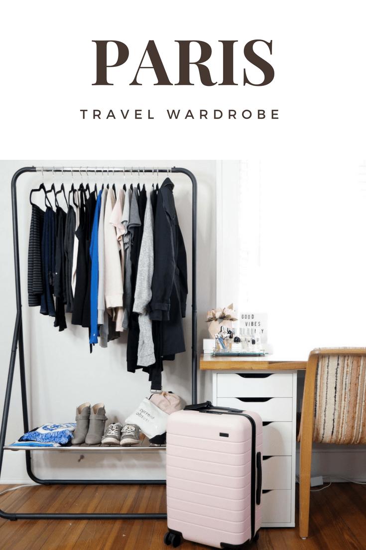 Paris Travel Wardrobe