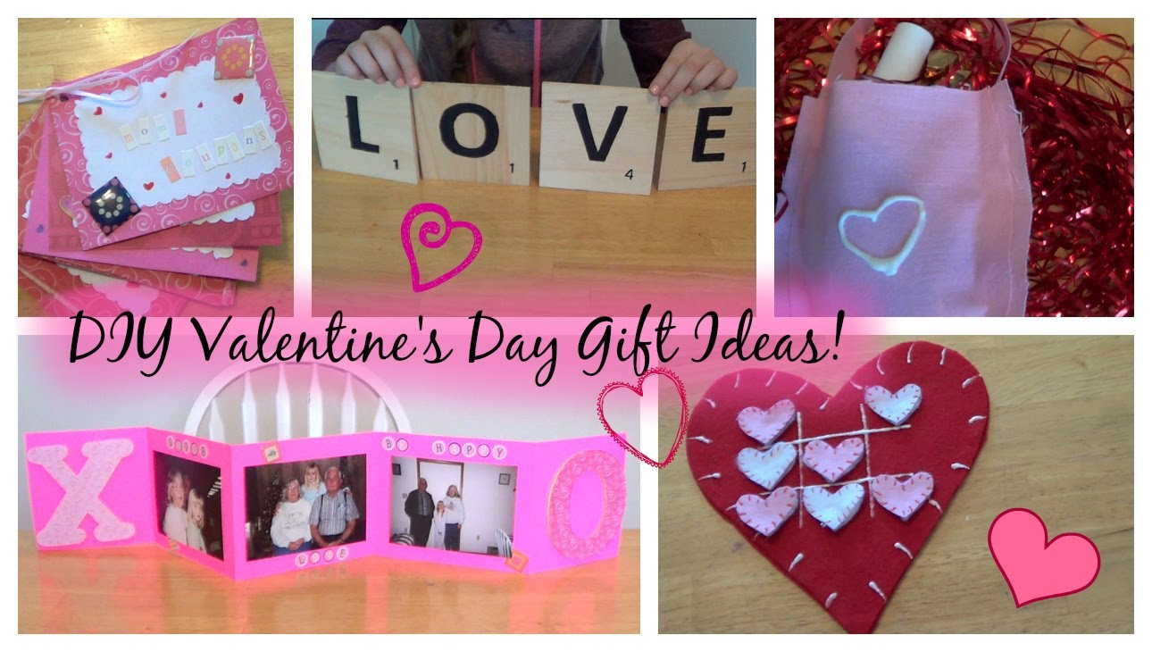 Perfect Last Minute DIY Gifts For Valentines Day