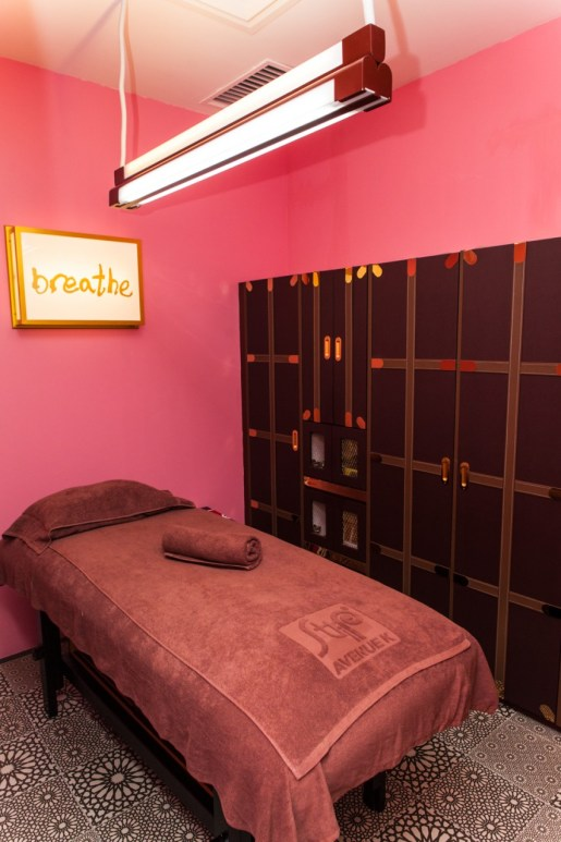 Get comfortable in STRIP's waxing parlours at Avenue K
