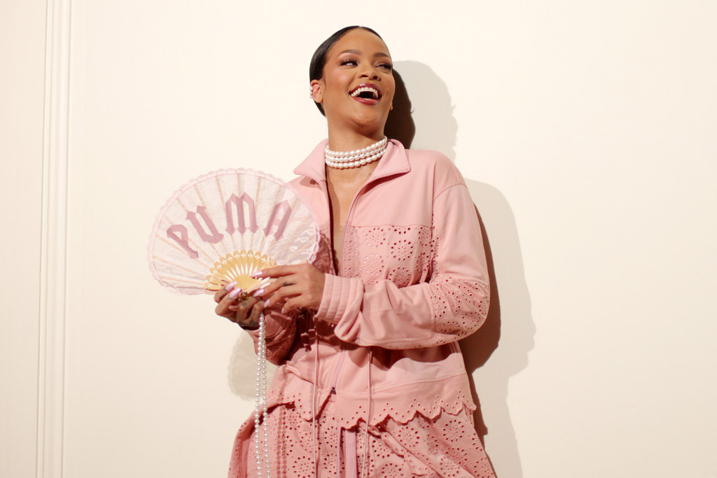 116f6e45ec Puma Is Suing Forever 21 & Topshop For Copying Rihanna's Shoe Designs
