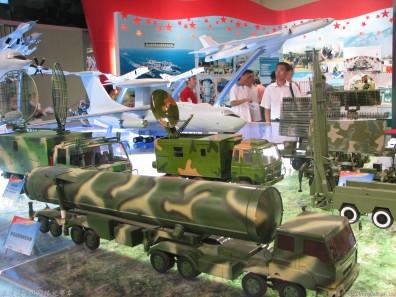 远程战略导弹模型