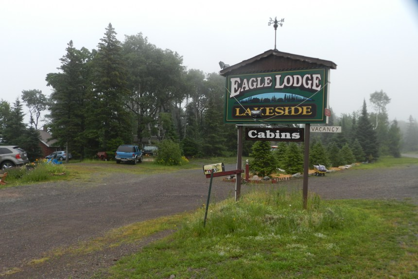 The Eagle Lodge Lakeside is the northernmost lodging in mainland Michigan.