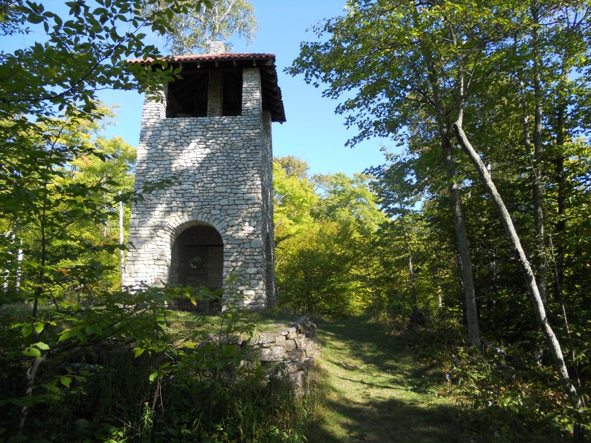 The water tower provided both hot and cold running water.