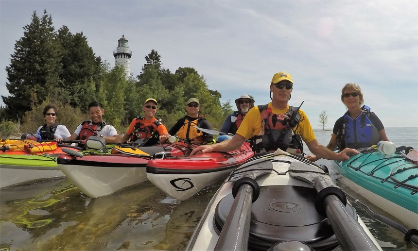 Our group tour of Moonlight Bay and Cana Island