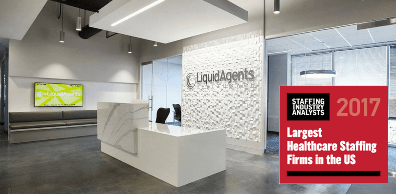 LiquidAgents Healthcare Ranks Among Top 25 Largest Travel Nurse Staffing Firms in the United States