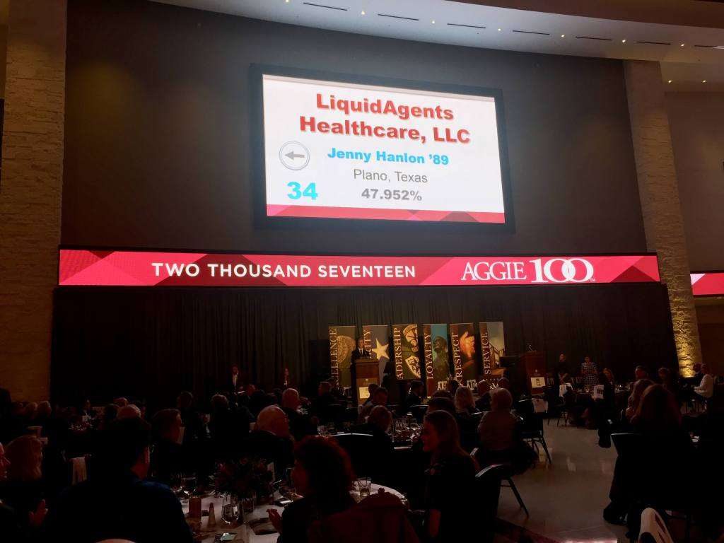13th Annual Aggie 100 Honors LiquidAgents Healthcare