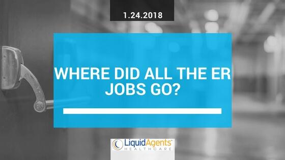 Travel Nursing: Where did all the ER jobs go?