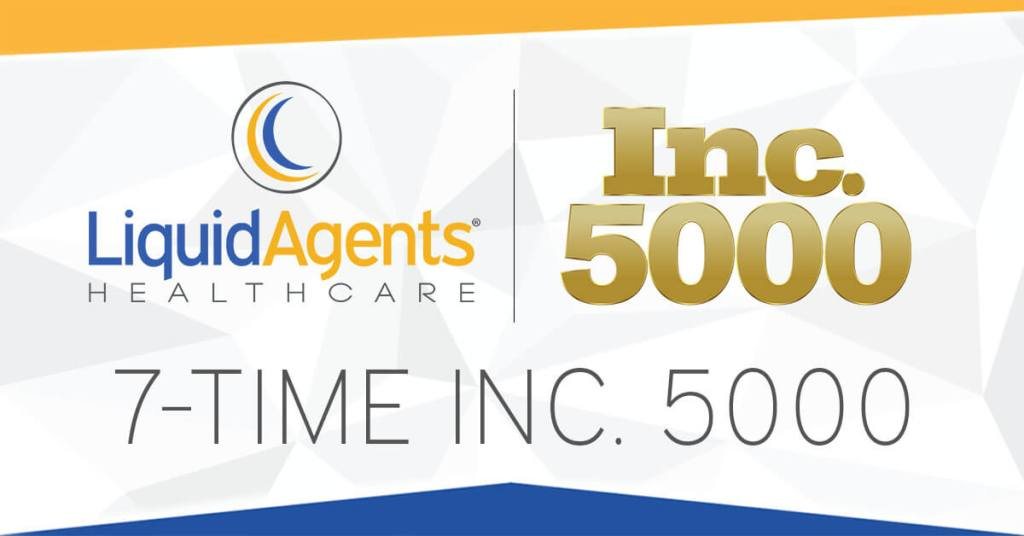 LiquidAgents Healthcare Recognized on the Inc. 5000 for the 7th Time
