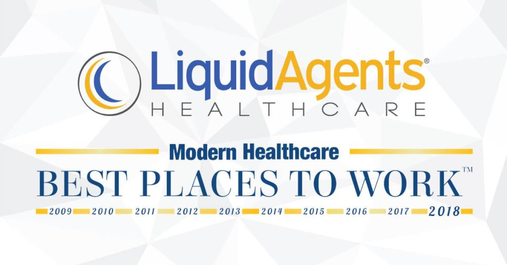 """LiquidAgents Healthcare Recognized as """"Best Place to Work"""" by Modern Healthcare"""