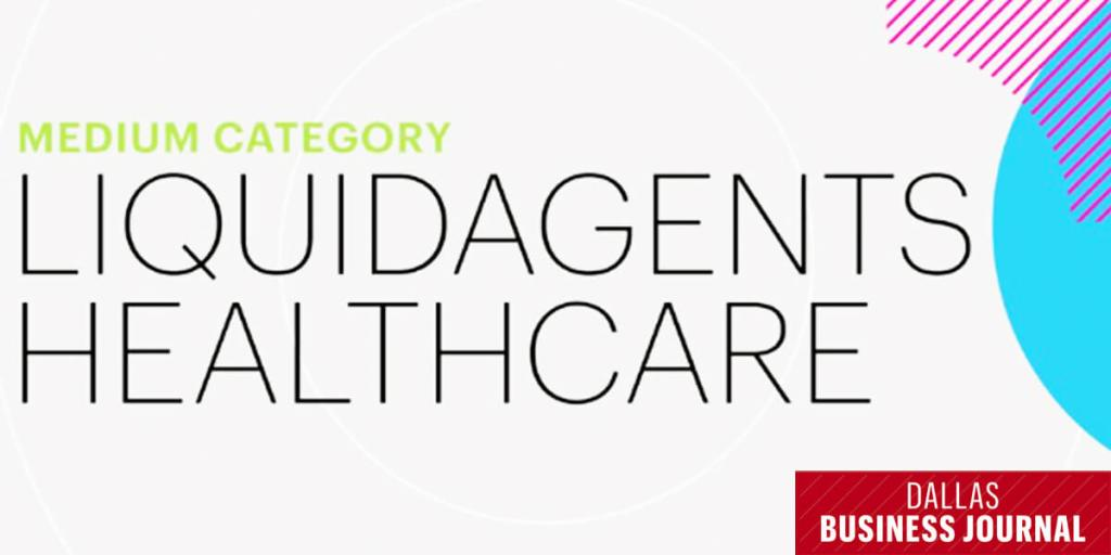 Dallas Business Journal Names LiquidAgents Healthcare a 2019 Best Place to Work