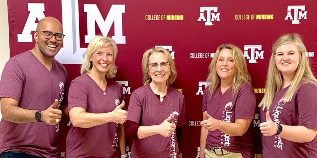 LiquidAgents Healthcare Endows Scholarship for Texas A&M's College of Nursing