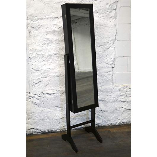 Miroir Sur Pied Avec Rangement Bijoux Liquida Meubles