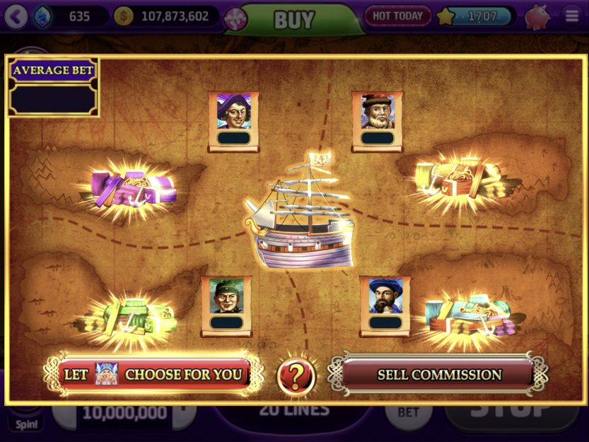 Slot Design Report: July 2019