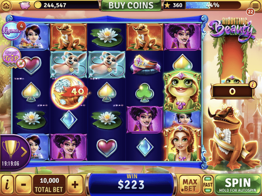 Slot Design Report: December 2019