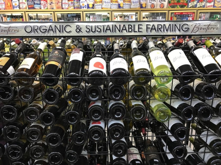 Wines at Liquid Assets - Organic & Sustainable Farming