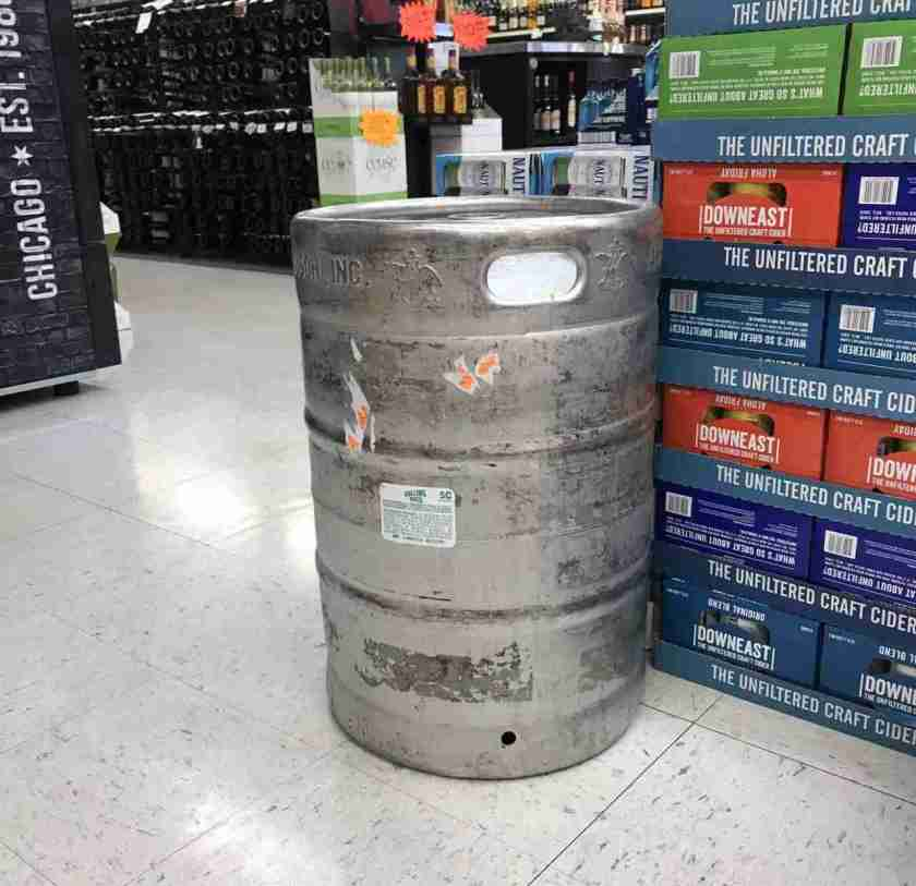 Beer Keg at Liquid Assets