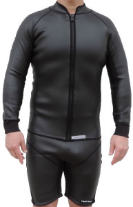 2.5mm smooth skin wetsuit shorts