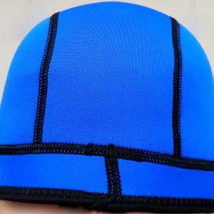 1mm wetsuit beanie cap in blue