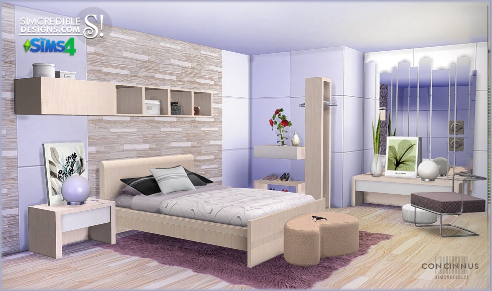 Concinnus Bedroom By SIMcredible Designs Liquid Sims