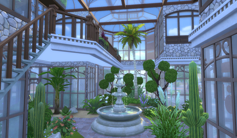 Greenhouse Set By Leander Belgraves Liquid Sims