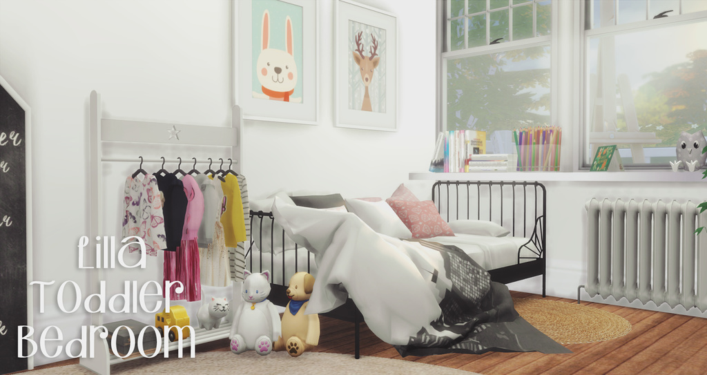 Lilla Toddler Bedroom By Pyszny Liquid Sims