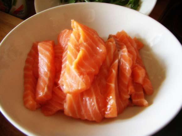 Norimaki al salmone