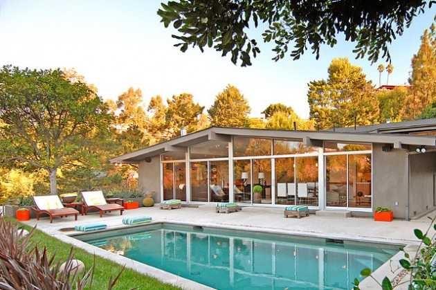 mid century design in your backyard