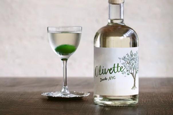 Dante's Olivette to-go cocktail