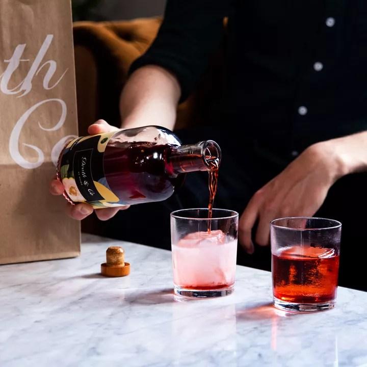 Bottled cocktail at Death & Co