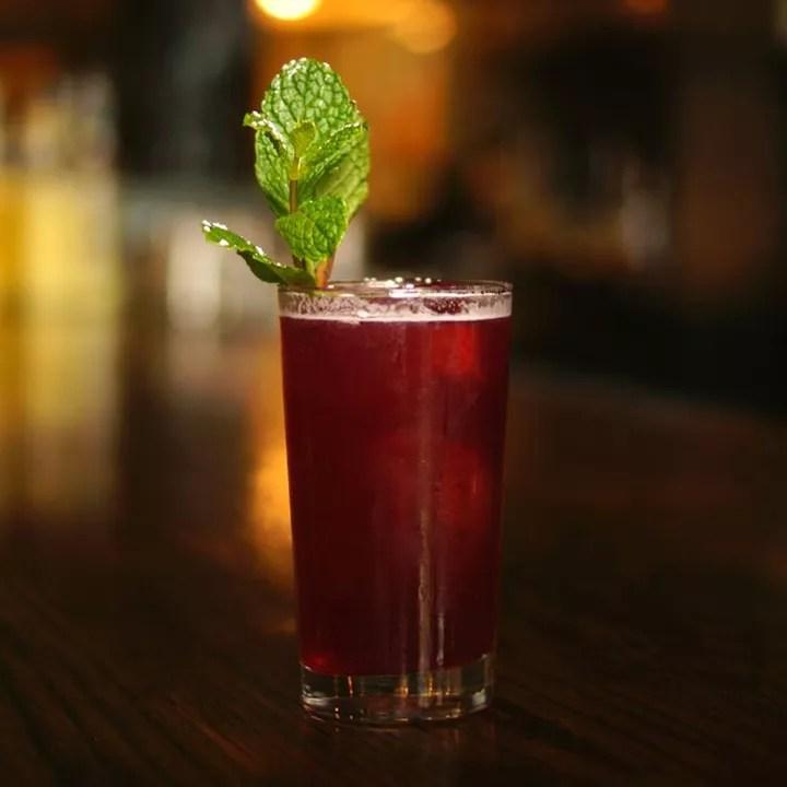 Diamond Claret Cup cocktail