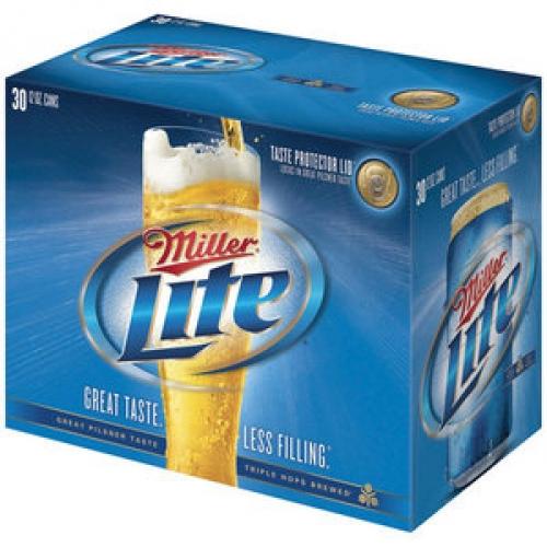 miller brewing miller lite 30 pack 12oz cans