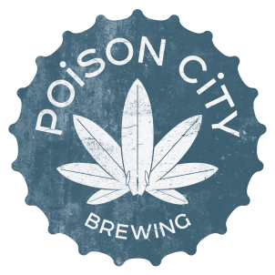 Poison City Brewing Logo FINAL SMALL CMYK AB