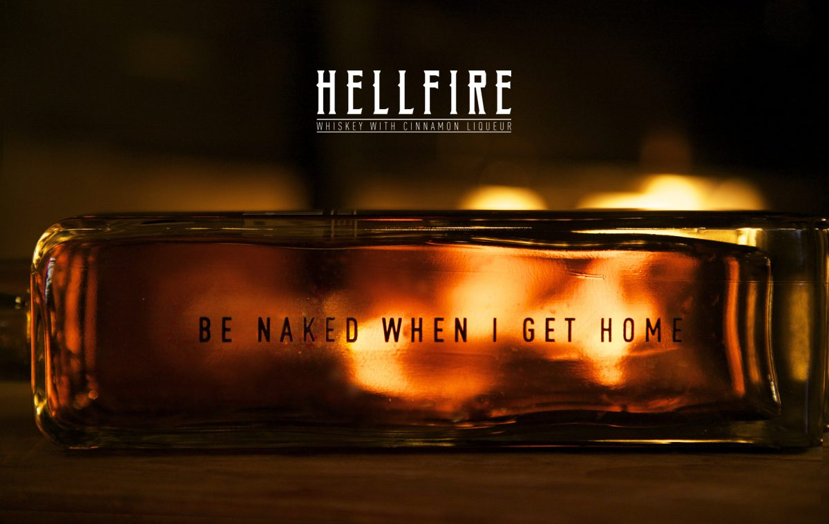 Hellfire Cinnamon Whiskey Liqueur