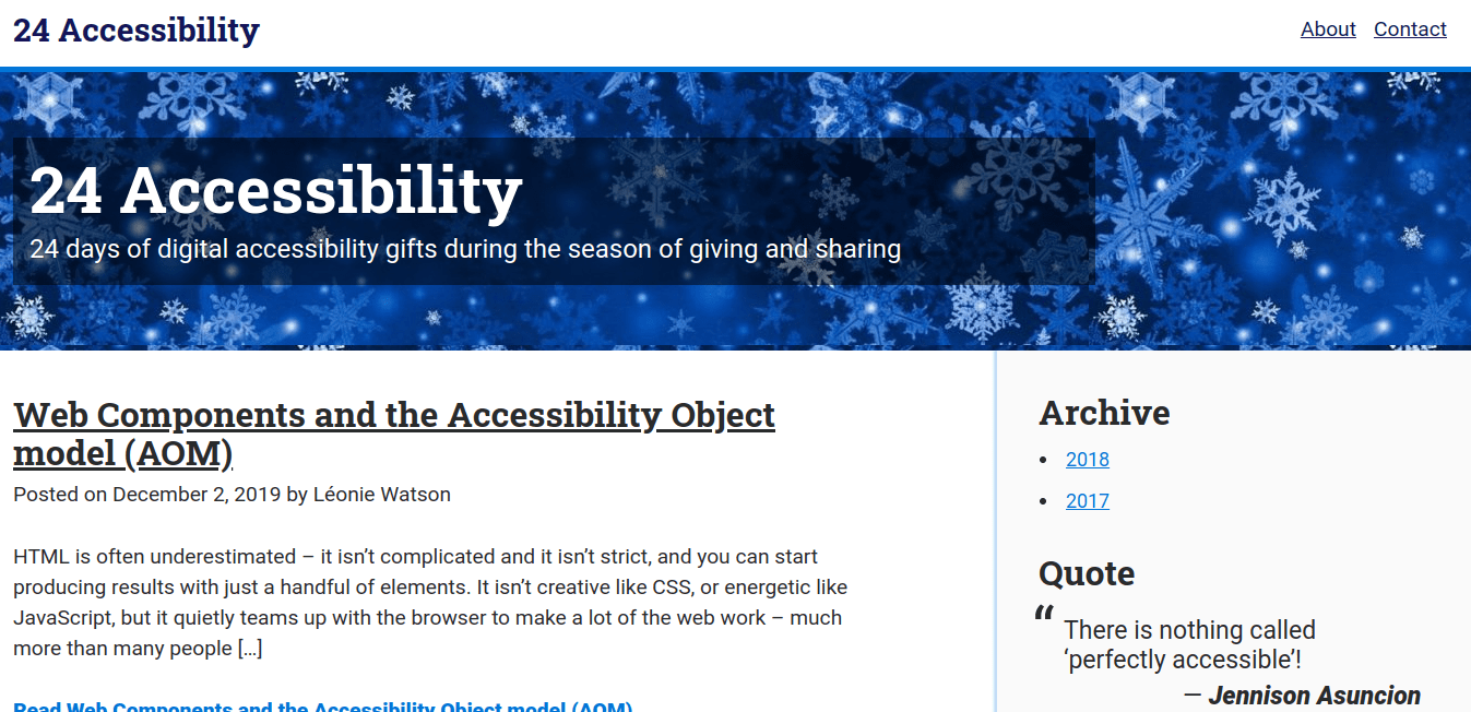24 Accessibility