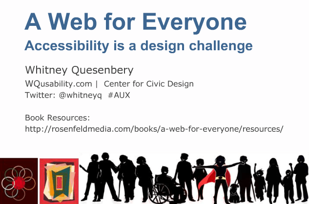 A web for everyone: accessibility is a design challenge
